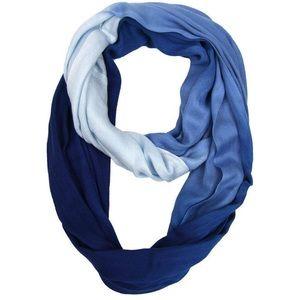 Lane Bryant  deep ocean blue ombré scarf